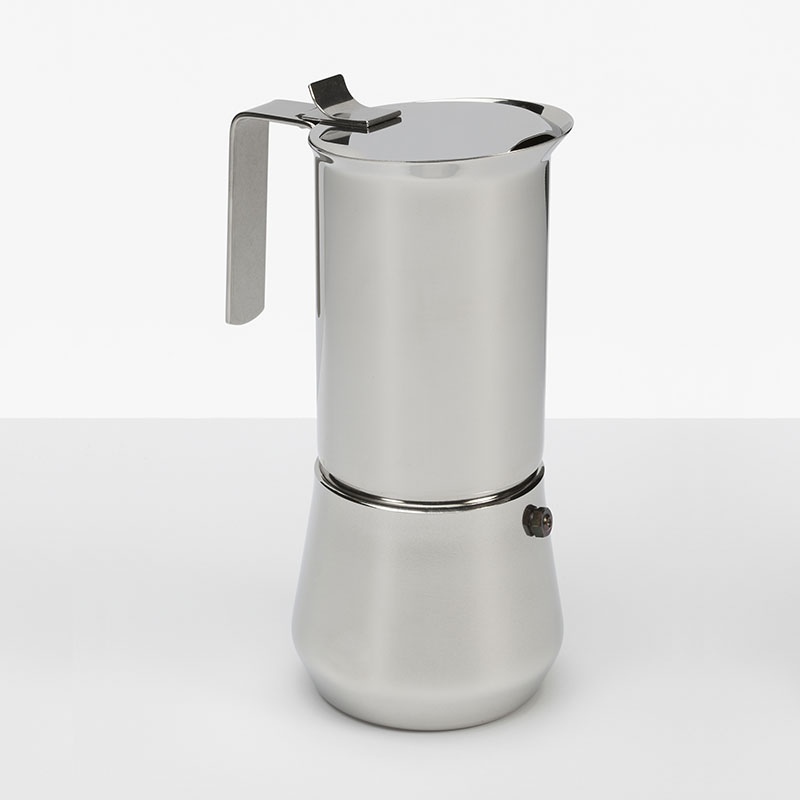 TURBO EXPRESS Stainless Steel Espresso Maker