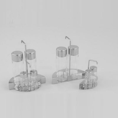 Interlocking Cruet Set 4 (18/10 INOX) - V166