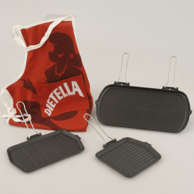 Dietella Apron & Cast-iron Grilles