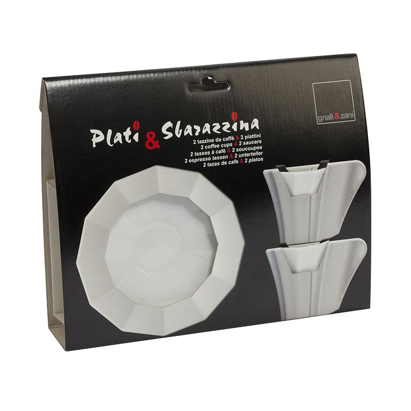 Sbarazzina Espresso Cups & Saucers