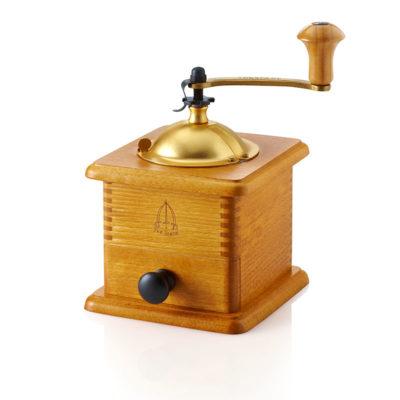 TRE SPADE Wooden Coffee Grinder