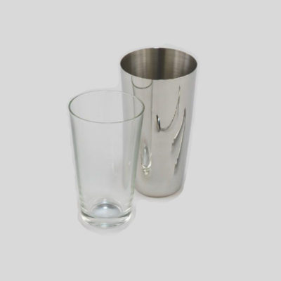 Ilsa Boston Shaker (18/10 Inox & Glass) - V266