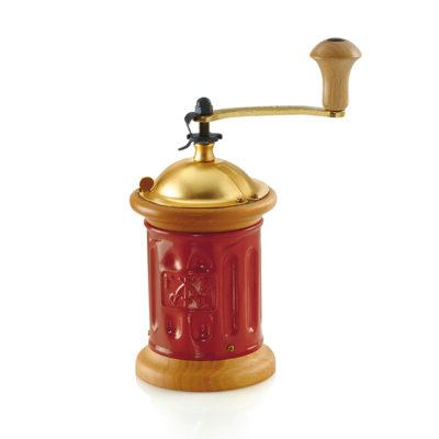TRE SPADE Red Coffee Grinder