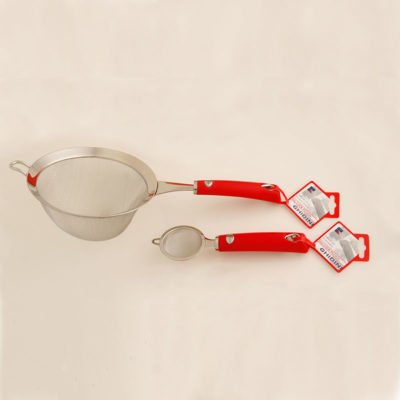 Small Tea Strainer / Large Strainer (Red)