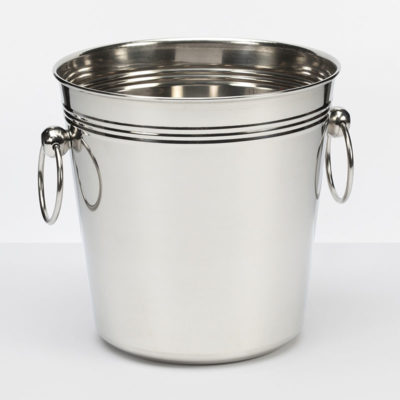 Champagne Bucket With Ring Handles