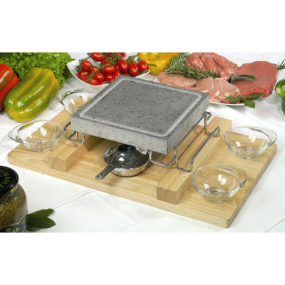 Convivo Set With Wooden Tray (Square)
