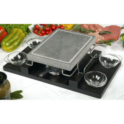 Convivo Set With Wooden Tray (Rectangular)
