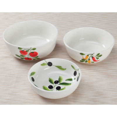 3 Pc. Bowl Set