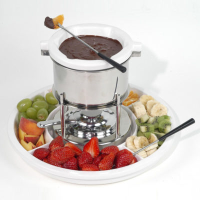 11 Pc. Chocolate Fondue Set