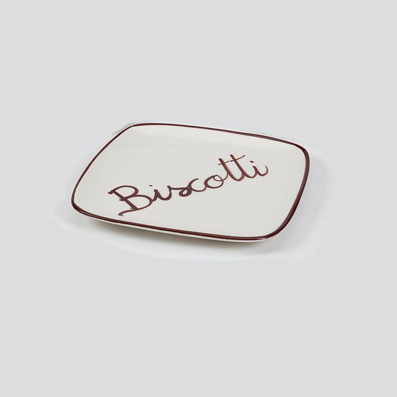 "Biscotti Plate (8.5"") - V415"